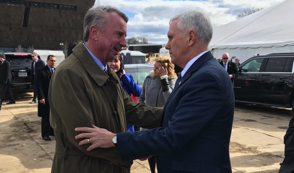 Ed Gillespie meets with Vice President Mike Pence at historic March For Life