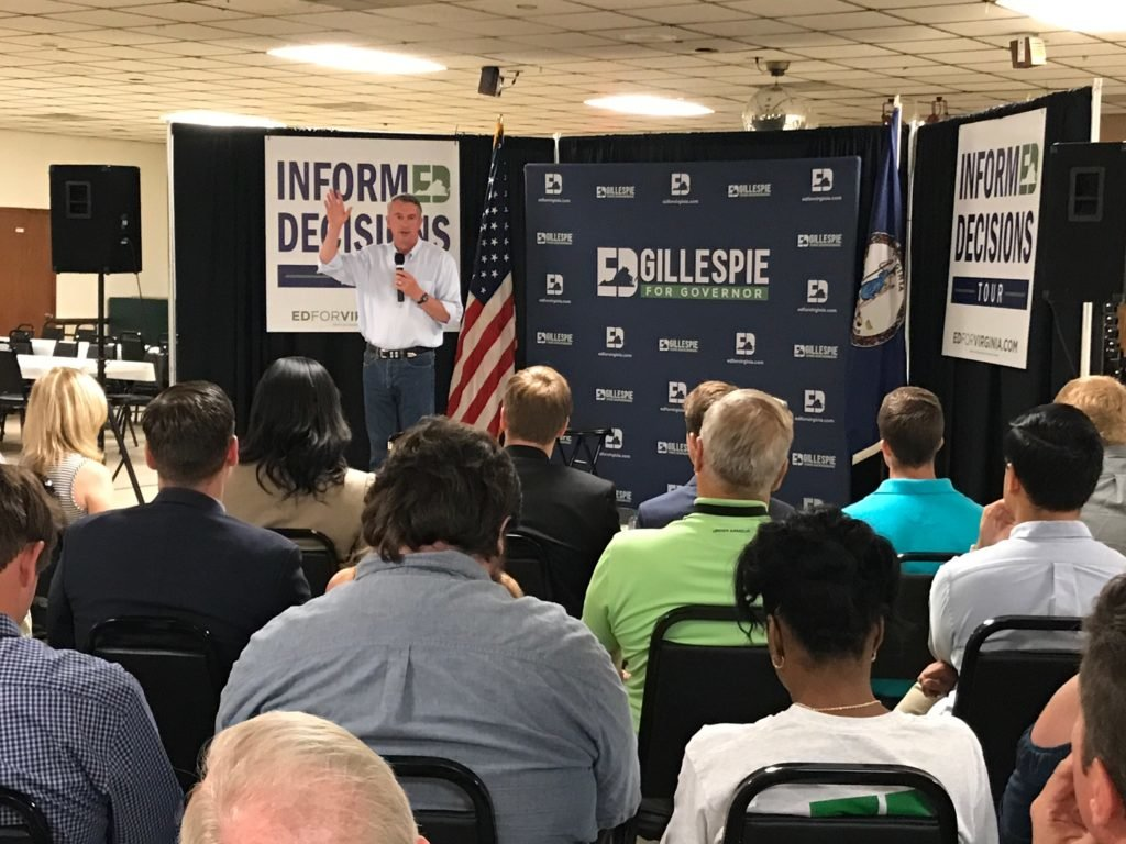 "Ed Gillespie: ""I know that I can make a difference for my fellow Virginians"""
