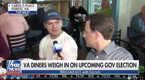 ICYMI: 'Fox & Friends' Visits Forest Diner, Talks Gubernatorial Race With Virginians