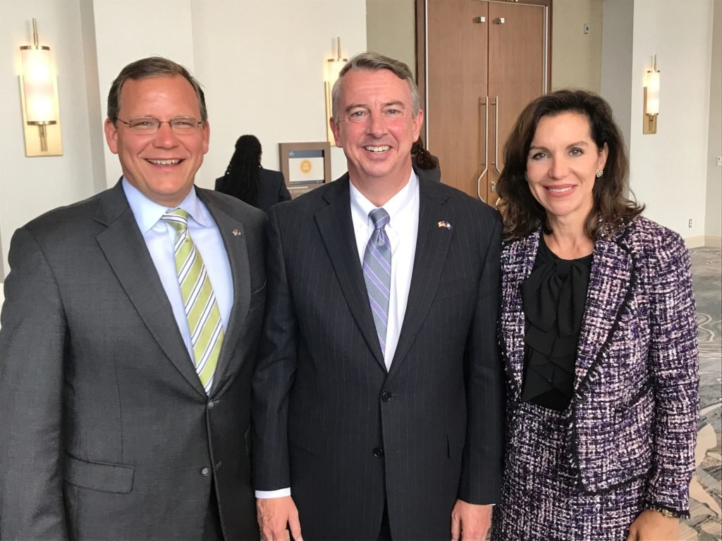 """Get Out The Vote"" with Ed Gillespie, Jill Vogel & John Adams in James City County"