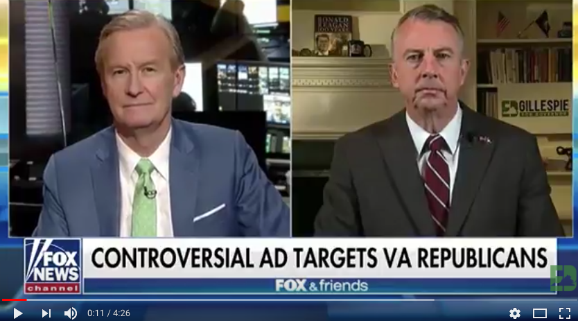 "ICYMI: Ed Gillespie: ""Lieutenant Governor Ralph Northam doesn't just disagree with millions of Virginians who don't share his liberal policy agenda, he disdains us."""