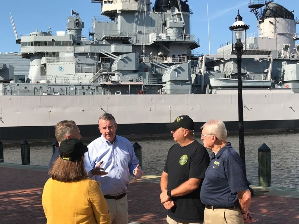 Ed Gillespie Highlights Policies That Will Revitalize Hampton Roads