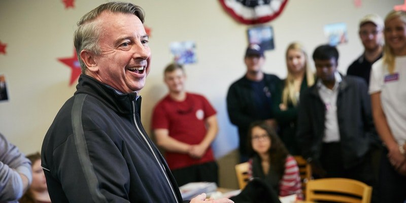 """Get Out The Vote"" with Ed Gillespie in Abingdon"